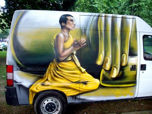 `buddha`s van`