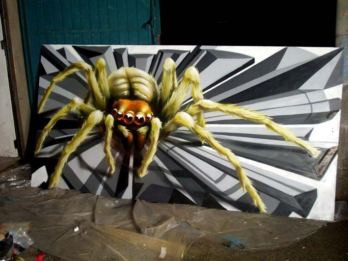 Laraignééée, l`araignééée ...