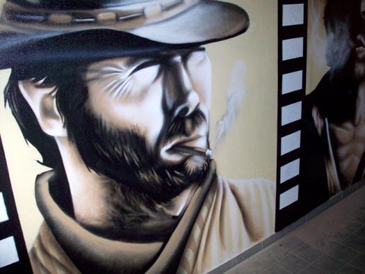 Clint Eastwood - Salle Fumeur / Leroy-Merlin (Besançon)