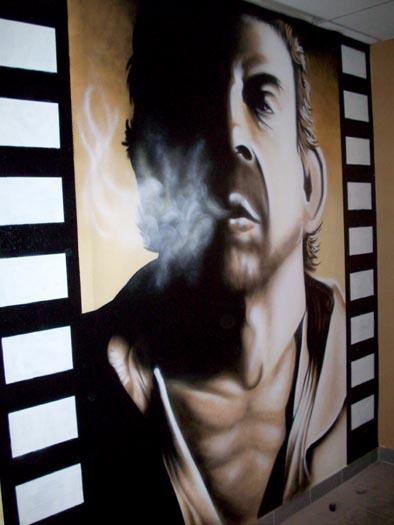 Serge Gainsbourg - Salle Fumeur / Leroy-Merlin (Besançon)