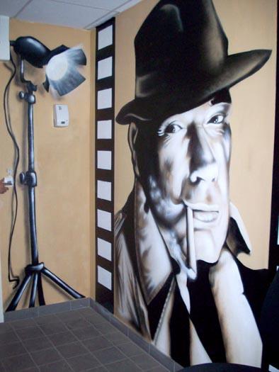 Art ogans peinture d coration graff graffiti - Graffiti leroy merlin behang ...