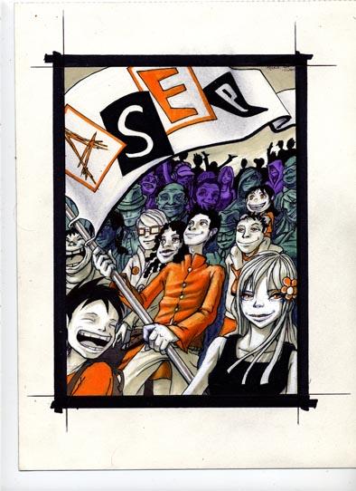Page de couverture du programme de l`A.S.E.P - 2011-2012